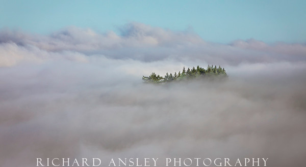 Castle in the Clouds-California coastal range