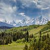 Teton Summer Green & Blue-Grand Teton National Park