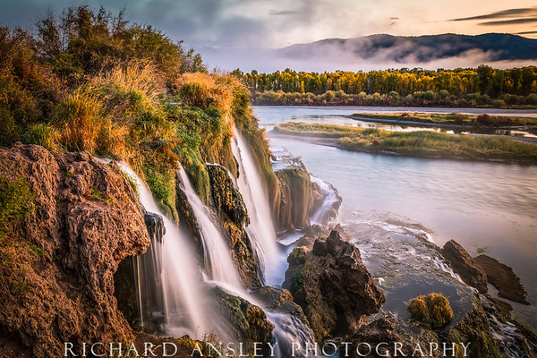 Autumn Falls-Snake River, Idaho