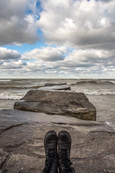 Lake Erie, Cleveland, Ohio