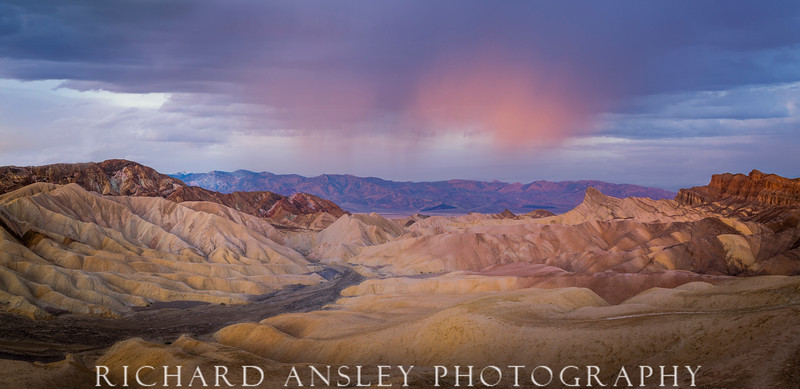 Blue Hour at Zabriski-Death Valley, CA