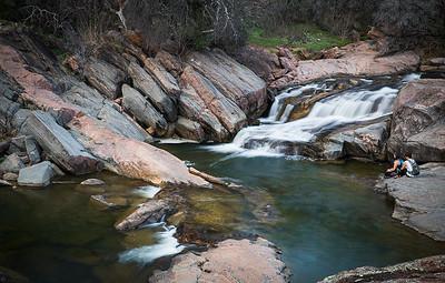Valley Spring Creek Waterfall, Inks Lake State Park, Texas