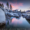Sand Harbor Sunset-Lake Tahoe, CA