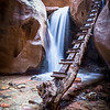 Kanarraville Log Bridge-southern Utah