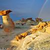 Hoo Doo Rainbow-Southern Utah
