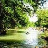 Tubing on Guadalupe River at Gruene Texas 2