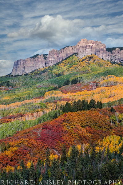 Layers of Color-Cimarron Mountains, Colorado