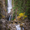 Mystery Falls (vertical), Rocky Mountains