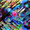 Abstract Water Lilies #4