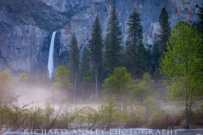 Bridal Veil Mist-Yosemite NP, CA