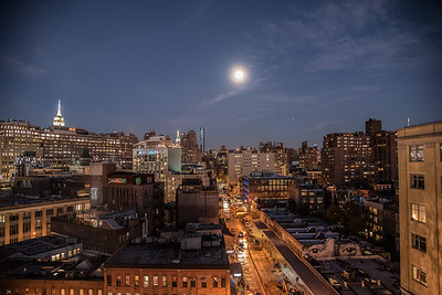 View from The Whitney Museum, New York, New York