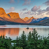 Goose Island on St. Mary Lake-Glacier NP | Nature and Landscape Photography