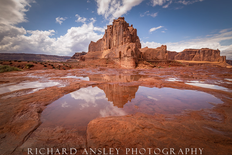 Temple Reflections-Arches NP