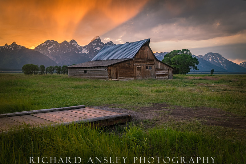 Mormon Row Barn-Tetons