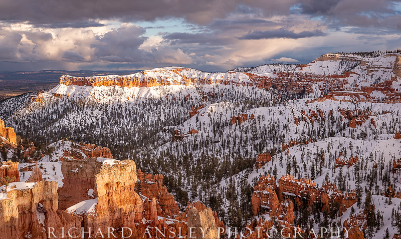 Bryce Canyon Snow Storm, Utah