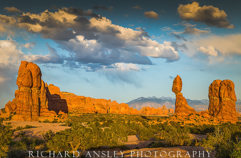 Red Stone Towers-Arches NP, Utah