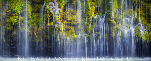 Moss Falls-Limited Edition. Sizes: 36x90 (as shown) and 30x72