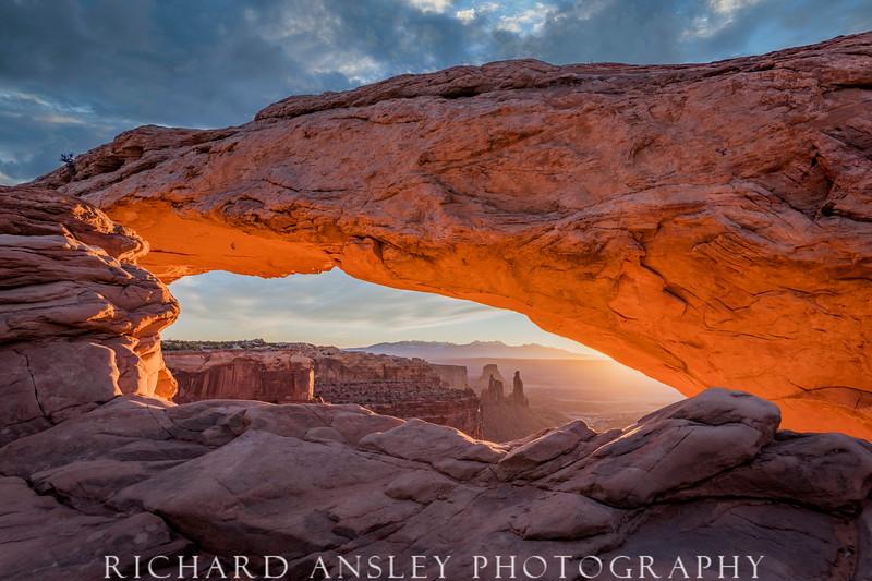 Morning Glow Over Canyonlands, Utah