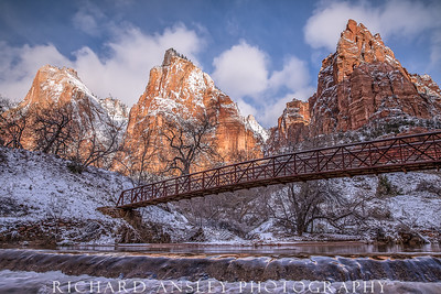 Zion in Winter-Patriarch Bridge 1, Utah