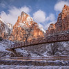 Zion in Winter-Patriarch Bridge 1