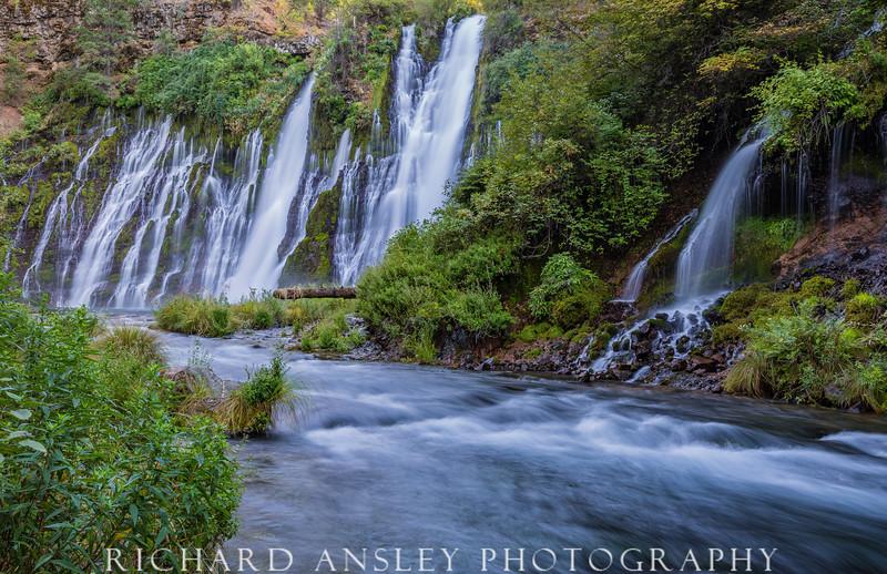 White Cascades-Burney Falls, CA