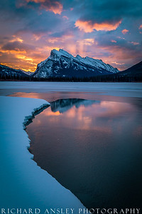 Alberta Lake Sunrise, Canada