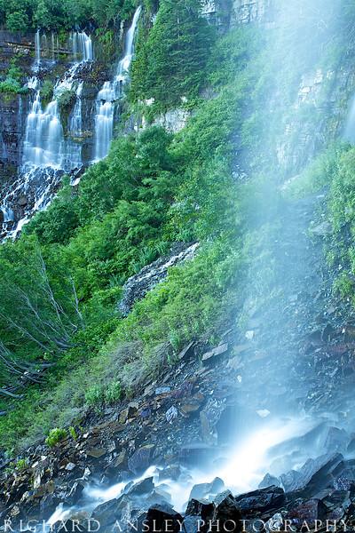 Wasatch Waterfalls-Mt.Timpanogos, Utah