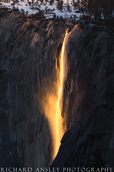 Liquid Fire-Yosemite National Park, CA (limited edition of 250)