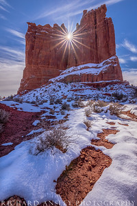 Red Cliff Sunstar-Arches NP, Utah