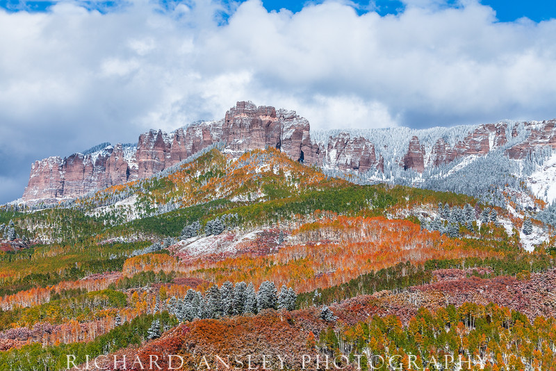 First Snow on Cimarrons-Colorado
