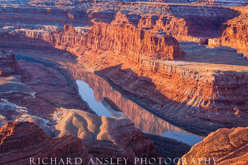Red Cliffs on the Colorado-Canyonlands, Utah