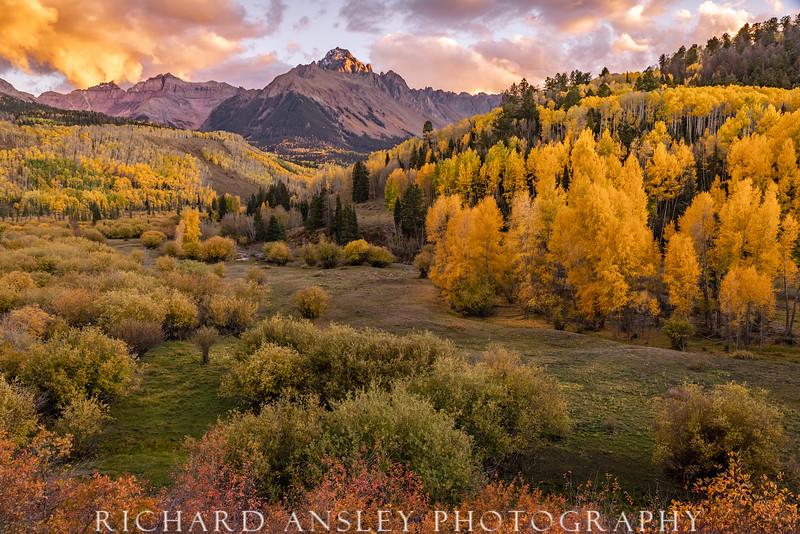 Mt. Snuffles Sunset, Colorado