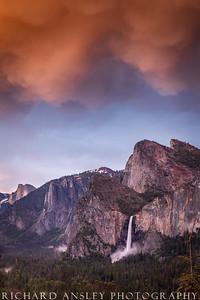 Tunnel View Sunset 2-Yosemite NP, CA