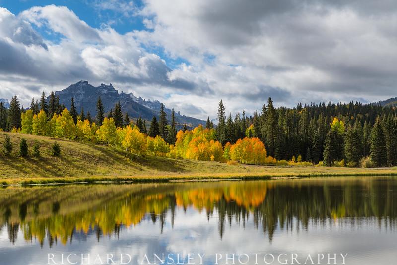 Autumn Pond-San Juan Mountains, Colorado