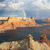 Gunsight Rainbows 2-Glen Canyon, Utah