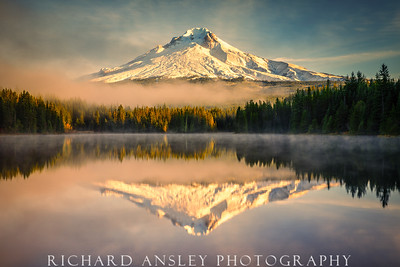 The Hood Twins-Mt Hood, Oregon