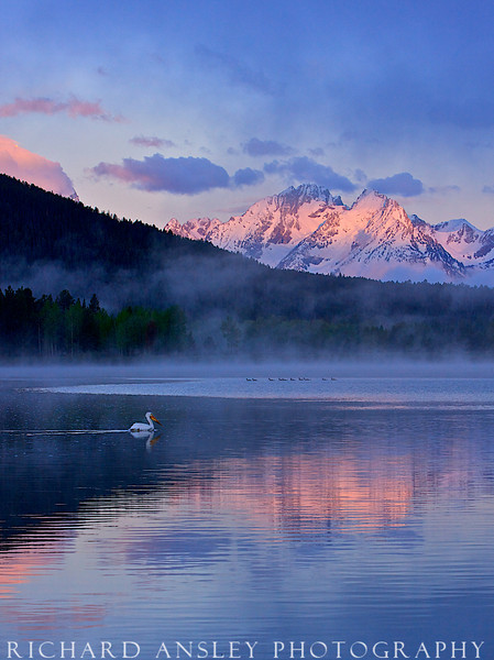 Peaceful Waters-Teton NP, Wyoming