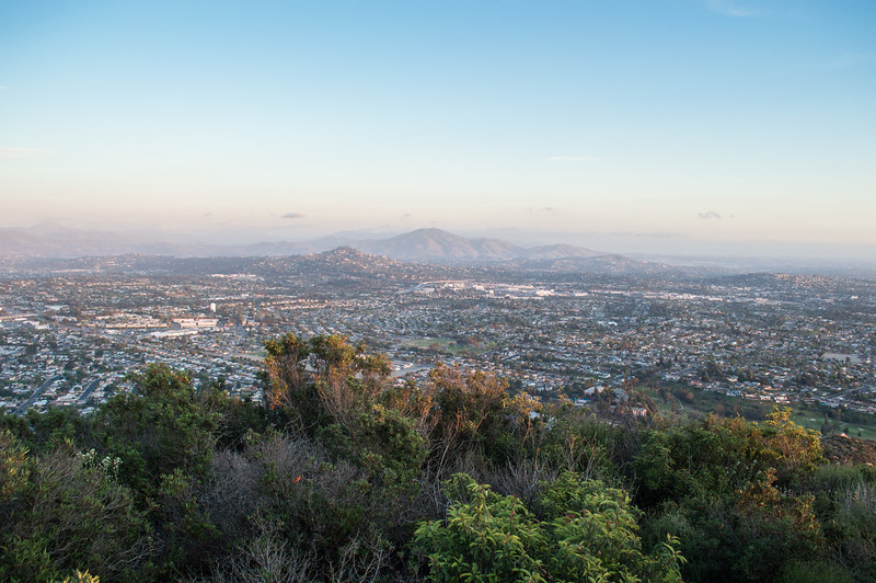 Cowles Mountain, San Diego, California
