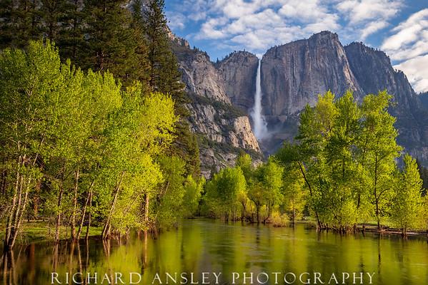 Falls Into Merced-Yosemite NP, CA