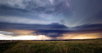 Epic Storm over Black Hills