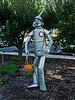 Tin Man garden guard