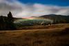 Rare and unusual Lunar Rainbow over the White Salmon River Valley