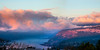 GorgeSunriseClouds-30x15in