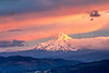 Cotton Candy Skies and Mount Hood