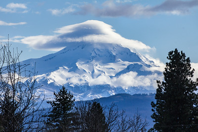 Afternoon Cloud Cap, Mount Hood