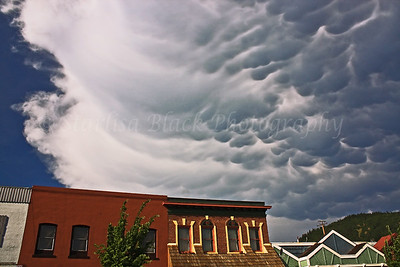 Very fast moving Mammatus Cloud formation raced through White Salmon on the heels of a high wind storm. Tornado sightings were reported in both Washington and Oregon during that storm on May 29, 2009