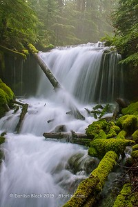 Misty Waterfall