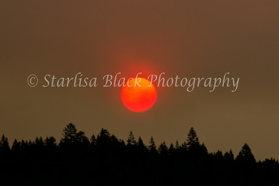 Red Sun in Morning, Firefighters take warning