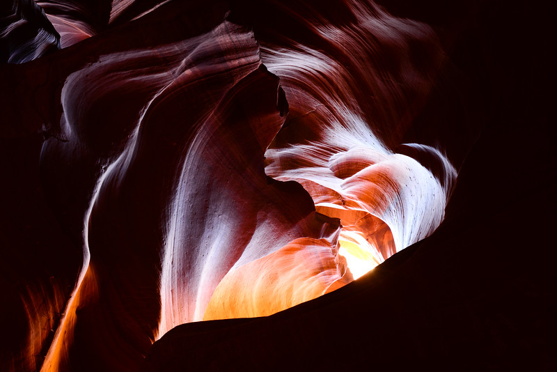 "Upper Antelope Canyon - The ""Heart"""