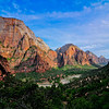 Designated in 1919, Zion is Utah's oldest national park. The park is known for its incredible canyons, including The Narrows, which attract canyoneers from around the world. Hiking possibilities are endless. With nearly three million visitors per year, Zion is Utah's most heavily used park. Most park facilities are located in the Zion Canyon area, and it attracts the most visitors. There are four main sections in Zion National Park